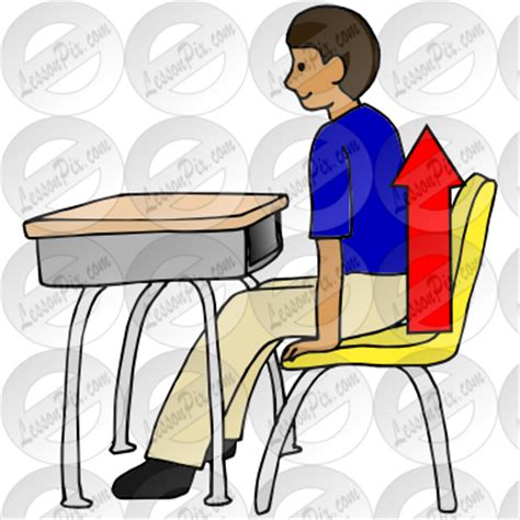 Chair Push Ups by Push In Chair Clipart Clipart Suggest