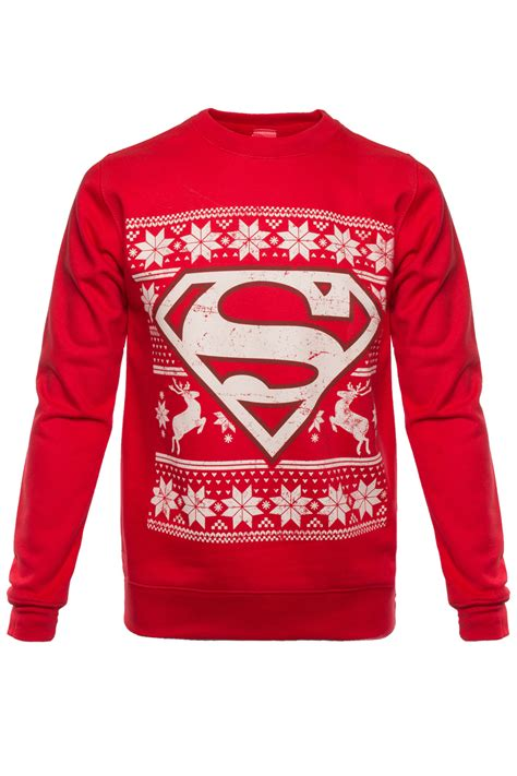 christmas themed clothing uk adults dc comics superhero theme christmas jumpers new