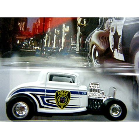 Hotwheels 125 33 Ford wheels cop rods milwaukee 32 ford deuce coupe car global diecast direct