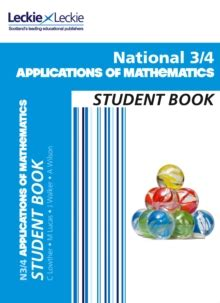 national 4 mathematics student 0007504616 national 3 4 applications of mathematics student book