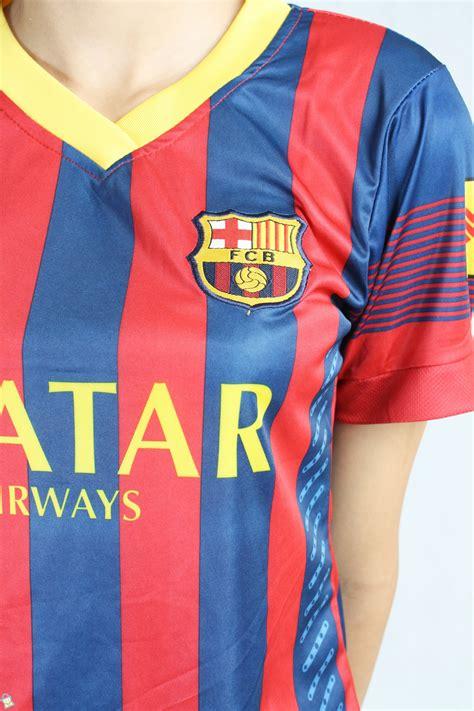 Kaos Baju Bola Club Indo Persija Logo Jakmania baju sepakbola barcelona home kaos bola biru tua s baju sepakbola