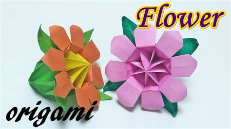 How To Make Paper Look 3d - how to make a paper 3d flower origami ttutorial easy but