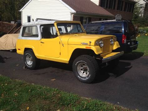 1971 jeep commando 1971 jeepster commando philadephia pa sold ewillys