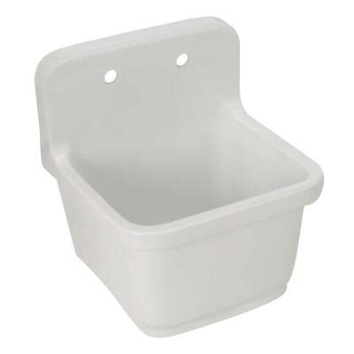 What Is A Service Sink by Kohler Sudbury Wall Mount Vitreous China 22x20x9 25