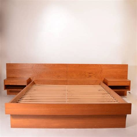 platform beds for sale danish modern queen size platform bed in teak for sale at