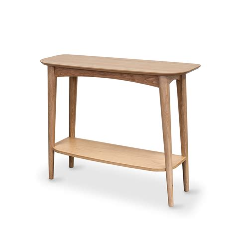 oslo console table with shelf furniture by design fbd