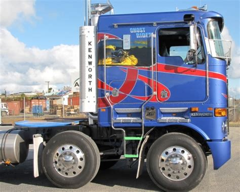 brand new kenworth truck prices maca s brand new quot ghost rider quot kenworth trucks customs