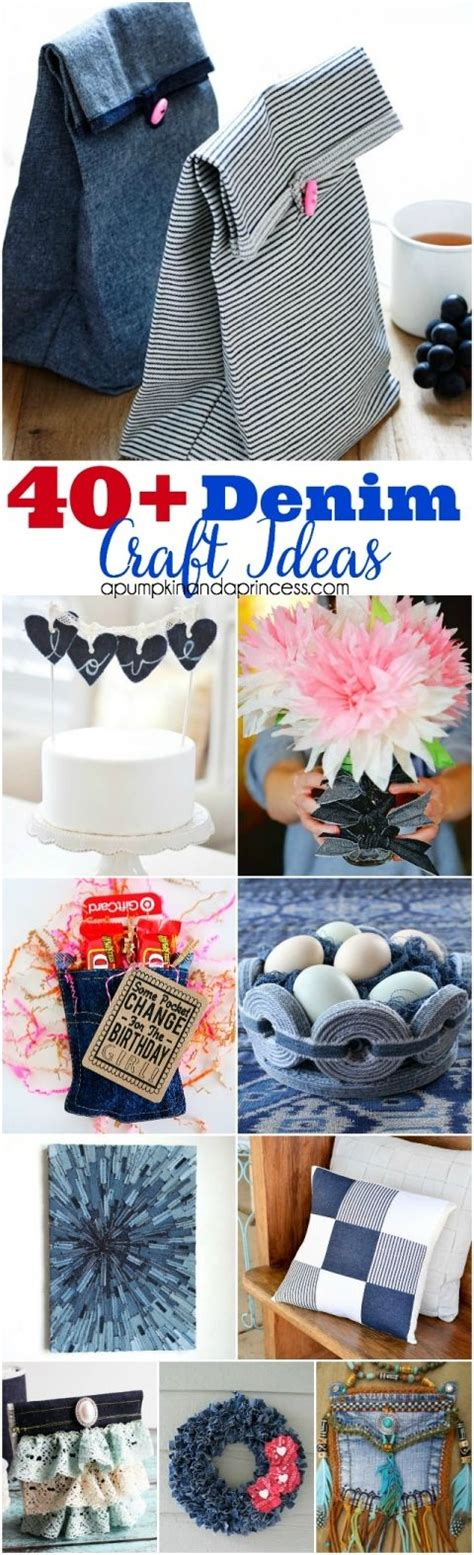 denim craft projects 40 denim craft ideas best of