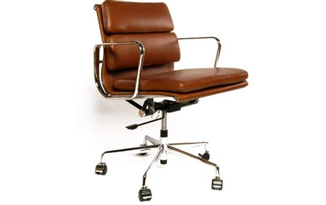 Vintage Desk Chair Swivel Eames Ea217 Soft Pad Office Chair Designer Office Chairs