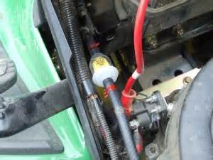 how to change spark plugs oil air amp fuel filters on john