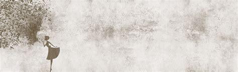 Carta Da Parati Inkiostro Bianco by Carta Da Parati Panoramica Sigh Collezione Inkiostro