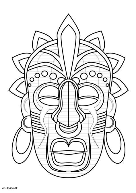 Dessin 695 Coloriage Masque Afrique 224 Imprimer Oh Coloriage Masques Africains L