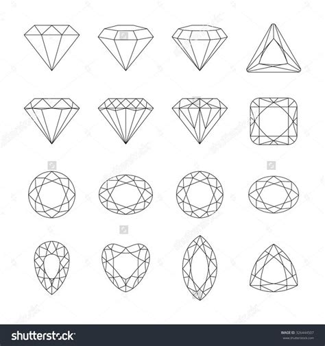diamond tattoo stencil 119 best images about diamonds vector on pinterest