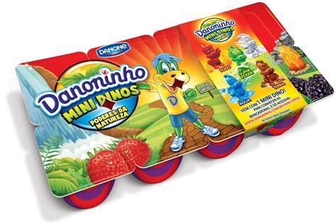 danoninho danone danoninho cria promo 231 227 o com mini dinos nas embalagens