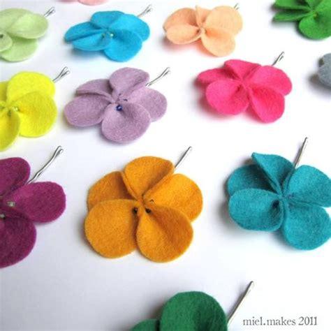 pattern for making felt flowers felt flower pins