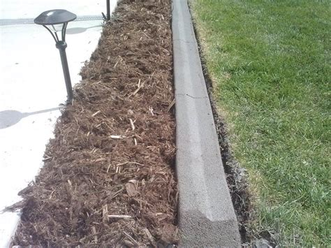 Concrete Edging In Fort Collins Clc Landscape Irrigation Concrete Landscape Edging