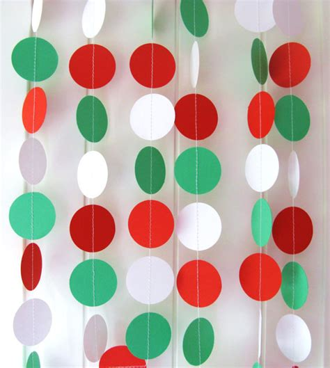 Paper Garland - 20 garland decorating ideas bright bold and