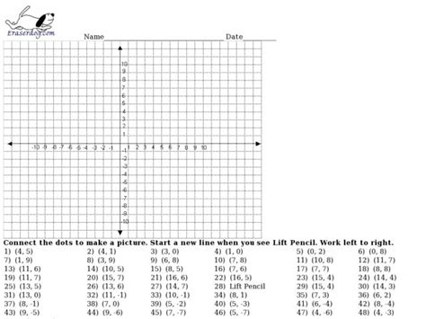 xy pattern generator coordinate plane drawing worksheets for 6th grade search