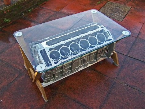 Engine Block Coffee Table Tamerlane S Thoughts Jaguar V12 Coffee Table And Bonus Vintage F1 Tire Coffee Table