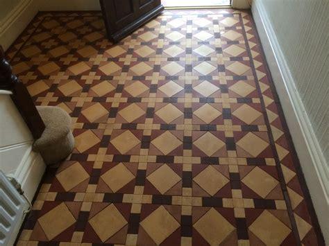 victorian minton floor tile cleaning stripping sealing polishing wimborne dorset tile