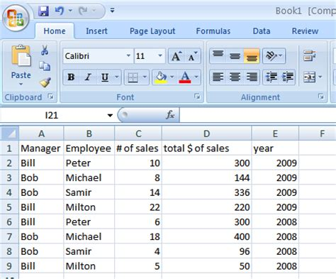 tutorial pivot table excel 2003 pivot table from two tables excel 2007 pivot table in