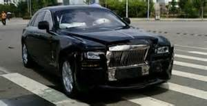 Rolls Royce Ghost Crash Rolls Royce Ghost Crash India 1 Images Rolls Royce Ghost