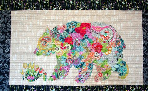 collage quilts with heine
