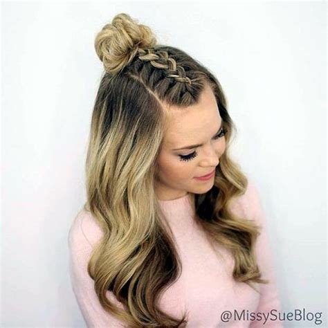 easy hairstyles for the day of high school best 25 hairstyles for school ideas on school hair easy school hair and simple