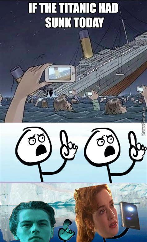 titanic boat meme sinking with bae lol i llneverletgo by barcaborn meme