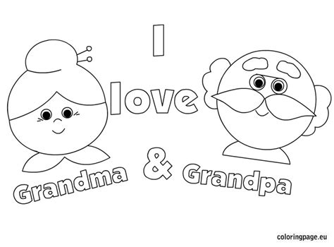 related coloring pageshappy grandparent s dayhappy