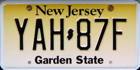 Garden State New Jersey by New Jersey Garden State Licence Plates