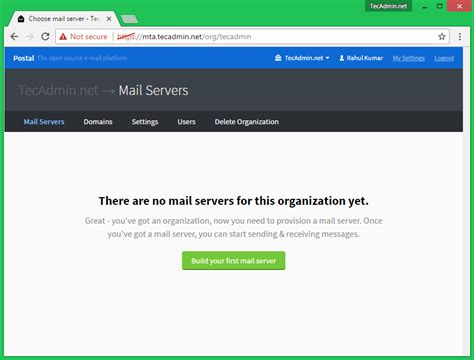 setup ubuntu mail server 12 04 how to install postal mail server on ubuntu 16 04 14 04