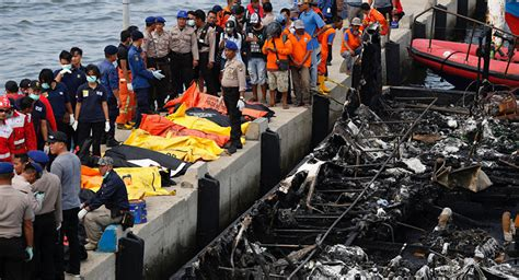 boats for sale jakarta indonesia at least 23 people killed in blaze on tourist boat in