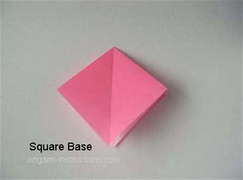 Origami Square Base - 17 best images about techniques origami on