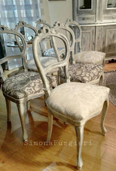 sedie shabby chic 17 migliori idee su sedie shabby chic su