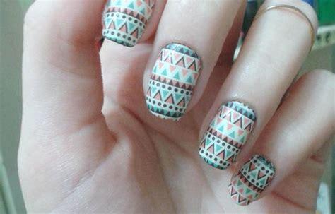 imagenes de uñas decoradas tribal dise 241 os de u 241 as tribales 2016