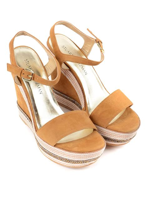 Butterfly Striped Wedges Import striped rope wedge sandals by stuart weitzman espadrilles ikrix