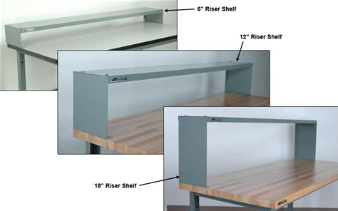 riser shelves dividers for workbenches sjf
