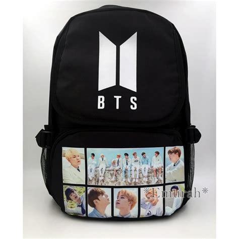 Backpack Btskpop kpop bts backpack