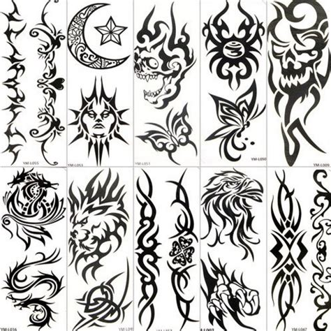 temporary tattoo stencils temporary tattoos design paper inofashionstyle
