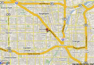 anaheim map california map of 8 motel anaheim near disneyland anaheim