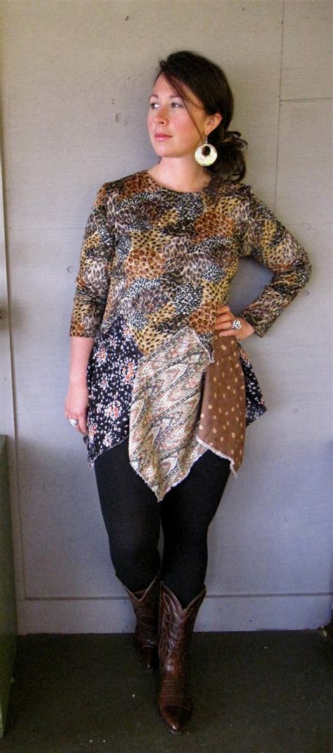 m l xl upcycled clothing artsy tattered by lillienoradrygoods