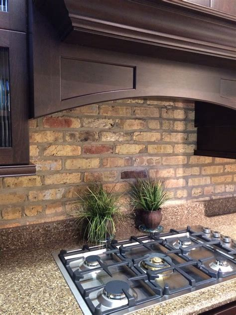 brick backsplash kitchen kitchen with brick brick backsplash kitchen 18 best brick backsplash images on pinterest cooking