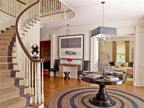 circular entryway awesome round foyer pedestal table decorating ideas