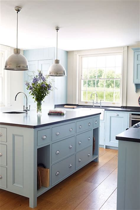 Light Blue Kitchen Ideas Light Blue Kitchen Units Kitchen Cabinets Units Houseandgarden Co Uk