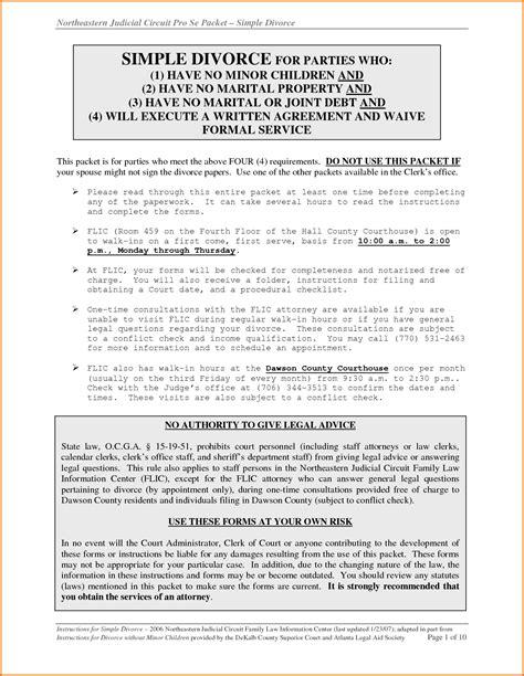 divorce decree template 7 divorce papers in divorce document