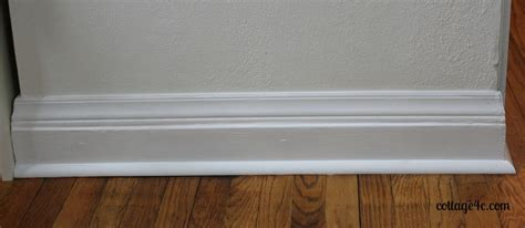 baseboard height add height to your baseboards cheaply hometalk