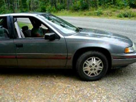 how does cars work 1997 chevrolet lumina navigation system 1994 chevy lumina euro peelin rubber youtube