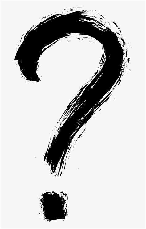 Free Download - Transparent Background Question Mark