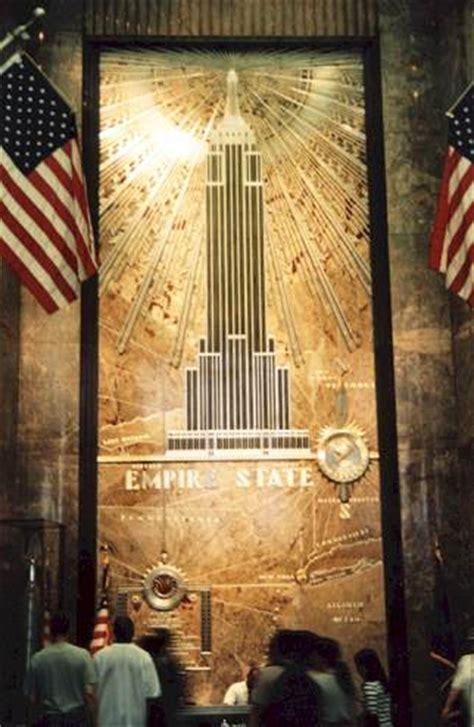 york empire state building interior